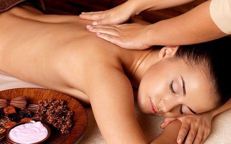 Relaxační masáže dle výběru s možností zábalu