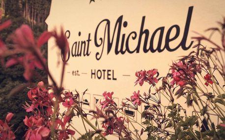Hotel St. Michael*** u Karlových Varů pro 2 se snídaní, vířivkou a masáží