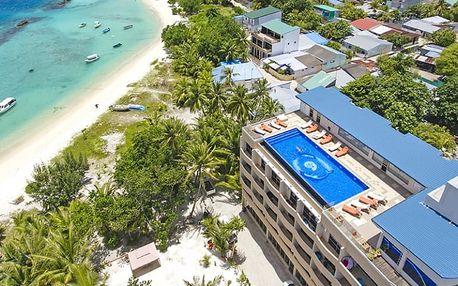 Maledivy, Severní Atol Male, letecky na 10 dní snídaně
