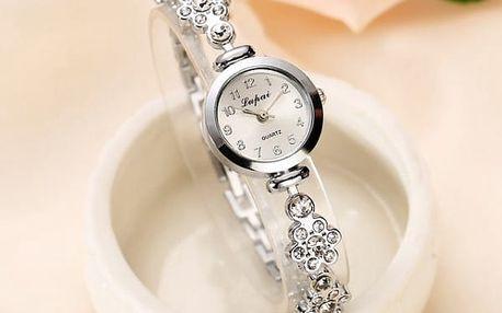 Dámské hodinky s kamínky - 14 variant
