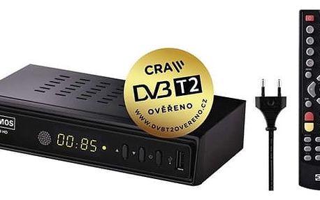 DVB-T přijímač EMOS EM180 černý