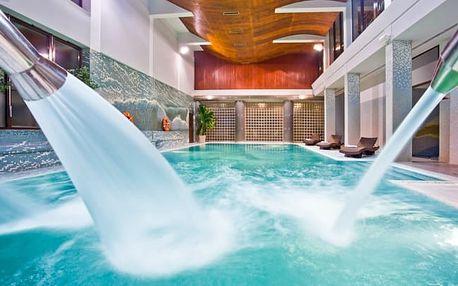 Polsko v hotelu s vlastním aquaparkem