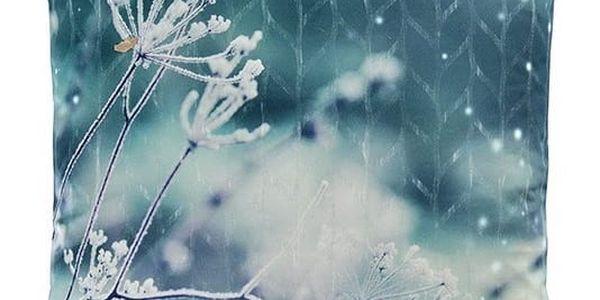 Sander Dekorační polštářek Ice flower 45 x 45 cm