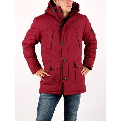 Bunda Superdry EVEREST PARKA Červená