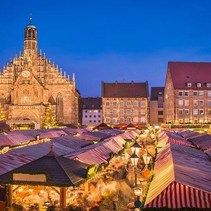 Adventní Norimberk: trhy i prohlídka města