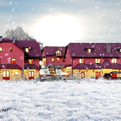 3–4denní pobyt s polopenzí pro 2 osoby v penzionu Dočkalův mlýn u Havlíčkova Brodu
