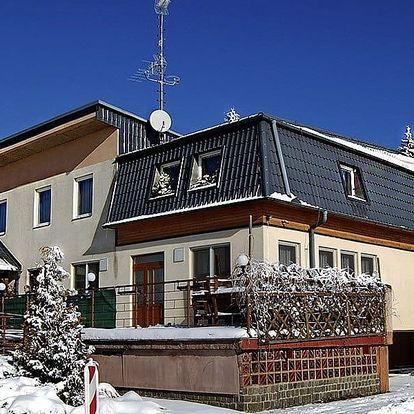 Víkendový pobyt na Moravě s polopenzí a saunou
