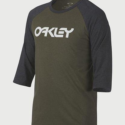 Tričko Oakley 50-Mark Ii Rgln Dark Brush Dk Htr Zelená