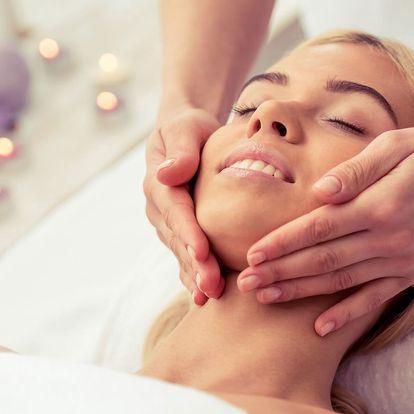 Indická masáž hlavy, šíje a obličeje