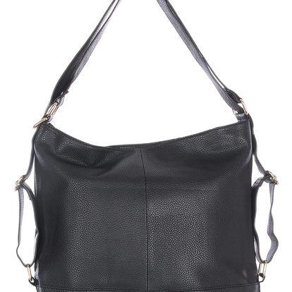Fashion Icon Dámská kabelka Ala backpack velká přes rameno i crossbody