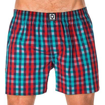 Pánské Trenky Horsefeathers Sin Boxer Shorts Dark Blue S
