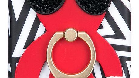 WishWay Fashion kryt na mobilní telefony Red Bear Iphone 6