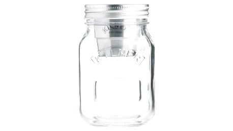KILNER Svačinová sklenice 0,5 l, čirá barva, sklo