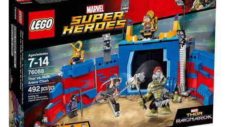 LEGO® DC Super Heroes 76088 Thor vs. Hulk: Souboj v aréně