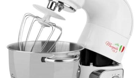 Kuchyňský robot ETA Gratus Maxipasta 0028 90081 bílý + dárek Přísl. k robotům - nástavec na výrobu zmrzliny ETA 0028 98030 bílé v hodnotě 1 599 Kč + DOPRAVA ZDARMA