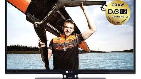 Televize GoGEN TVH 24N366 STC černá + Doprava zdarma