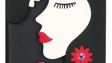 WishWay Fashion kryt na mobilní telefony Black Love Iphone 6