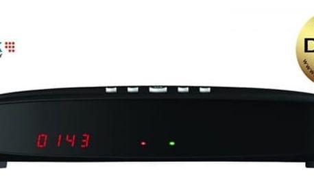 Satelitní přijímač GoSat GS7075 COMBOi HD (GS7075) černý + DOPRAVA ZDARMA