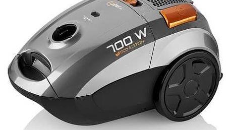Vysavač podlahový ETA Tiago 3507 90000 stříbrný + Doprava zdarma