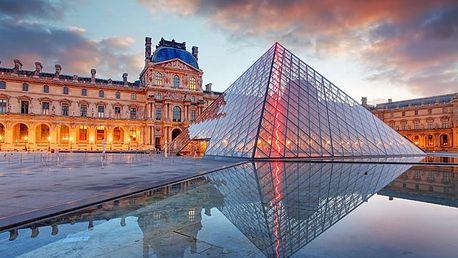 Valentýn v Paříži, zájezd na 4 či 5 dní pro 1 osobu + ubytování