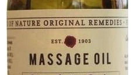 FIKKERTS Masážní olej Absolute detox, hnědá barva, sklo