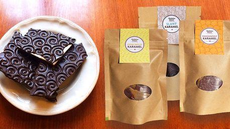 Kvalitní ručně vyráběná čokoláda dle výběru