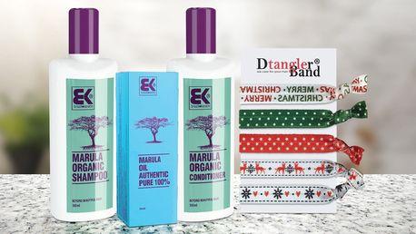Šampon a kondicionér s marulovým olejem