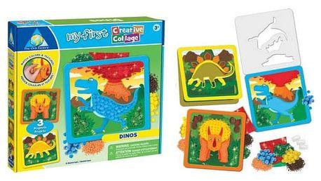 Kreativní obrázek Dinosaurus 3 ks