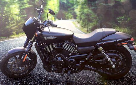 Legendární Harley-Davidson: na pár hodin či den