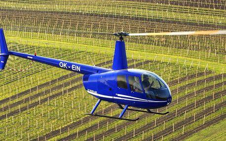 Pronájem vrtulníku s pilotem až pro 3 osoby