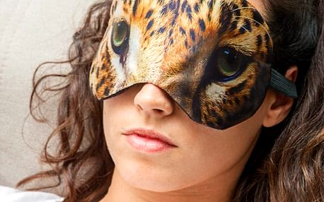 Maska na Spaní Zvířecí Oči