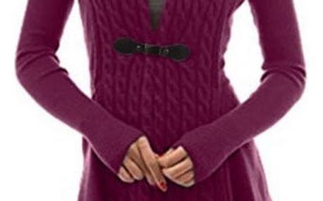 Dámský elegantní svetr Carmen