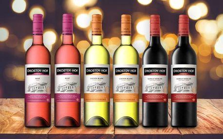 Sety neodolatelných jihoafrických vín