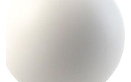COOEE Design Kulatá váza Ball White 10 cm, bílá barva, keramika