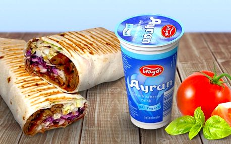 Twister s grilovaným masem a nápojem pro 2 jedlíky