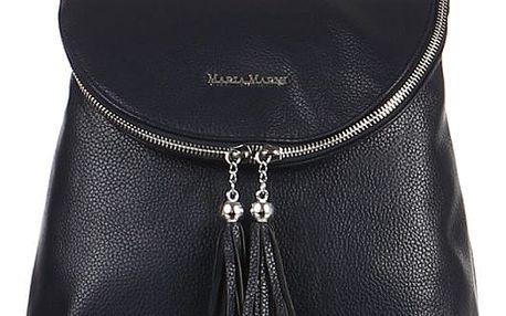 Koženkový batoh se střapci modrá