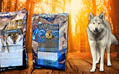 České holistické granule pro psy Wolf Nature