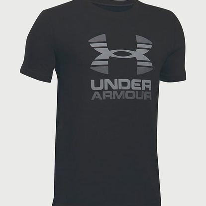 Tričko Under Armour Two Tone Logo SS T Černá