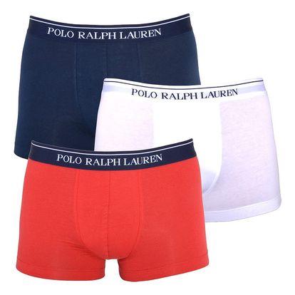 3PACK pánské boxerky Ralph Lauren tricolor L