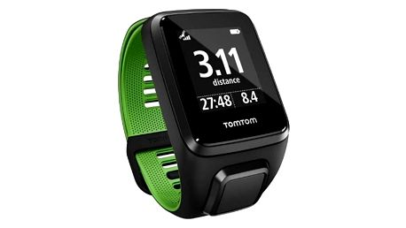 GPS hodinky Tomtom Runner 3 (S) (1RL0.001.01) černé/zelené + Doprava zdarma