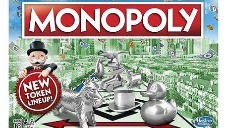 Hra Hasbro Monopoly nové CZ + Doprava zdarma