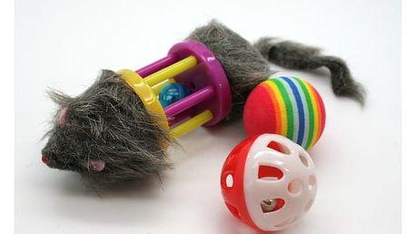 Myš s rolničkou pro kočky!