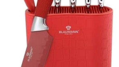 Blaumann 7dílná sada nožů ve stojanu Red Crocodile Line