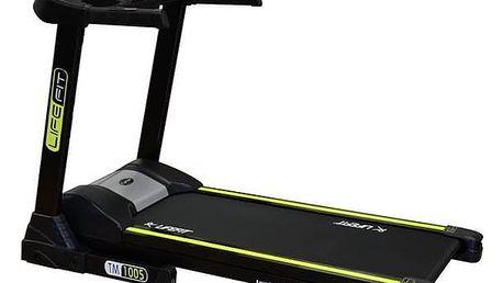 Běžecký pás LIFEFIT TM-1005 + Závěsný posilovací systém Rulyt nastavitelné - černá/červená v hodnotě 390 KčPosilovač břišních svalů Lifefit AB EFFECT - zelená (zdarma) + Doprava zdarma