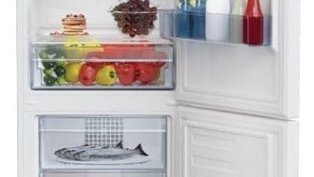 Kombinace chladničky s mrazničkou Beko RCSA 340 K20W bílá + DOPRAVA ZDARMA
