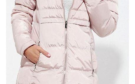 Kabát Moodo Z-KU-2408 pink M