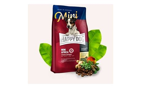 Granule HAPPY DOG MINI Africa 4 kg