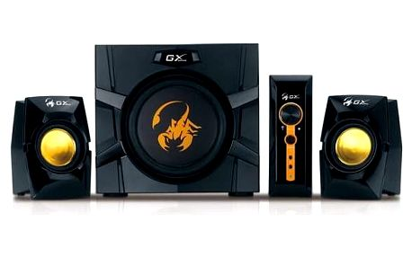 Reproduktory Genius GX Gaming SW-G2.1 3000 (31731016100) černá/žlutá