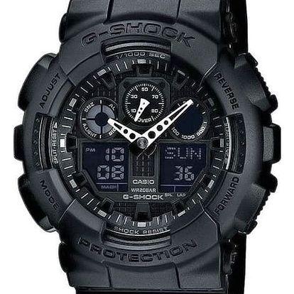 Casio GA 100-1A1 + nůž, pojištění hodinek, doprava ZDARMA, záruka 3 roky