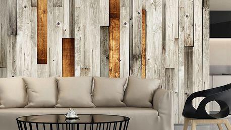 Bimago Fototapeta - Wooden theme 400x280 cm